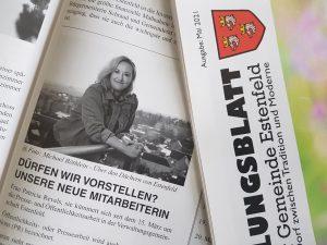 Presse- und Öffentlichkeitsarbeit der Verwaltungsgemeinschaft