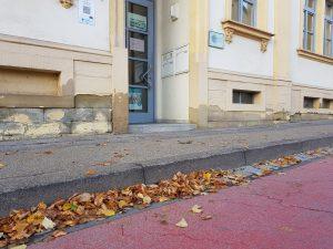 Übergang am Rathaus