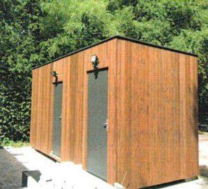 Toilettenanlage im Bürgerpark
