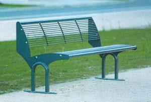 Sitzbänke im Bürgerpark